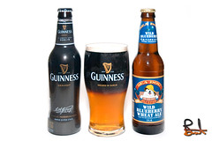 Black and Blueberry (brentdanley) Tags: black beer maine guinness blueberry blended stratified seadog blackandblueberry