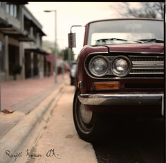 Datsun (Orbitaldebris) Tags: street 6x6 film fuji ps bronica pro medium format sq f28 ai datsun 2010 hillsborough 80mm sqai 800z zenzanon orbitaldebris