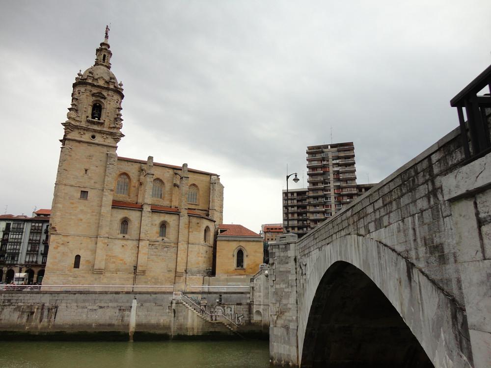 Iglesia de San Antón, zona donde se fundó el original Consulado de Bilbao.