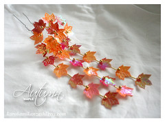 Autumn Maple (Kurokami) Tags: autumn ladies girls red orange woman toronto ontario canada green girl leaves japan lady hair asian japanese leaf maple women asia pin traditional ornament bead kimono beaded kitsuke sequin kanzashi