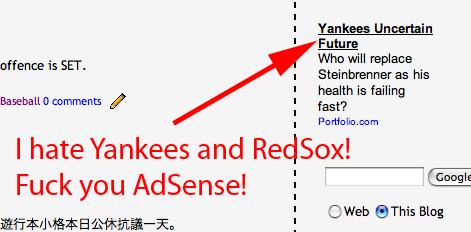 Fuck you AdSense