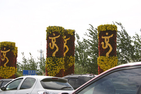 Floral Olympic promotions