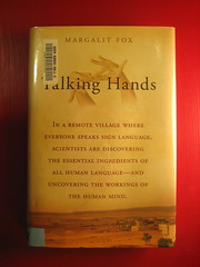 The book Talking Hands