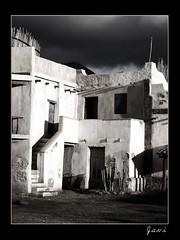 La casa de la pradera (Javier Guijarro) Tags: luz digital sombra bn contraste fotografia e1 tabernas solitaria bwdreams