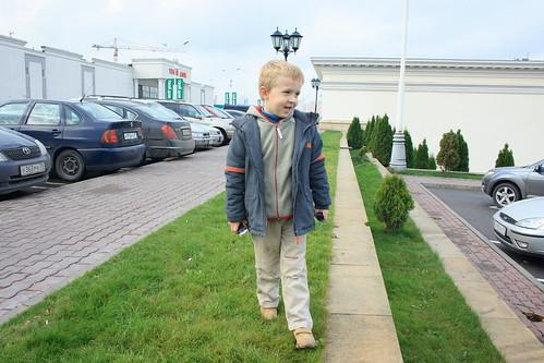 Я шагаю по Мааскве ©  dmytrok