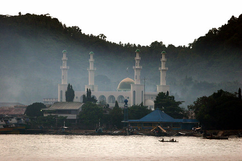 Fwd: Photo: Jolo's skyline, Tulay Mosque> by The Mindanao Examiner