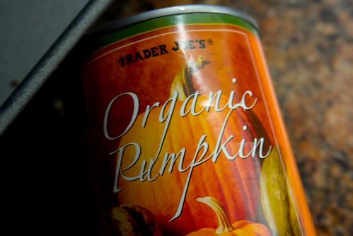 organic pureed pumpkin