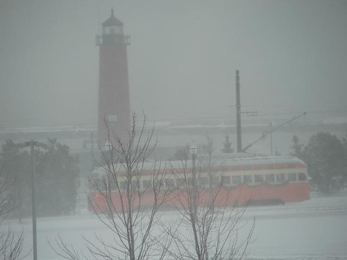 Kenosha Streetcar and Pierhead
