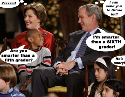 Is Bush Smarter than a Fifth Grader?