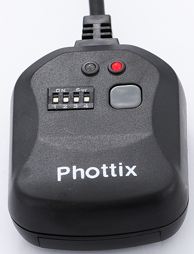 Phottix receiver -- Power On