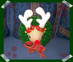 Rodolfo el Reno  (PrenD-T) Tags: christmas natal navidad felt explore feltro reno rodolfo fieltro