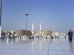Haram Shareef floor (Arabian Eagle) Tags: city mobile islam religion middleeast tent mina ramadan saudiarabia mecca makkah adha hajj madinat moslem  ramdan    ibraham