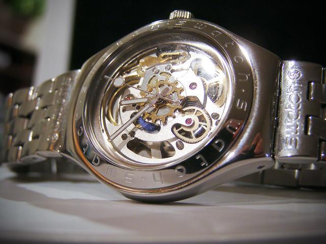 swatch watch automatic swatchirony