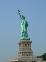 The Statue Of Liberty, visit to New York City, August 2007, photo © 2007 by R3. All rights reserved.