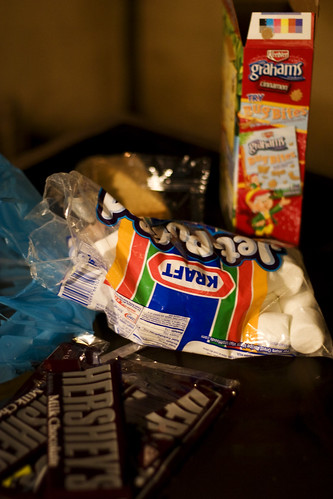 stuff for making s'mores