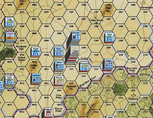Burnside Takes Command - Battle of Mitchell's Station 6/7