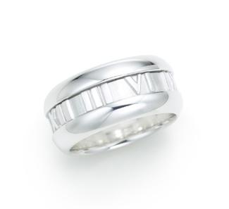 Tiffany & Co. | Item | Tiffany Atlas® ring. Sterling silver. | United States