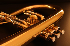 Mix of Sound (mawel) Tags: music gold soft band trumpet jazz blues sound instrument colourful musik brass canoneos350d valves klang bugle bore kapelle flugelhorn trompete weich canonef50mmf18ii ventile flgelhorn blasinstrument weril klangfarbe tonecolour