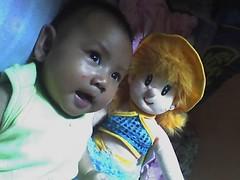 Luna & bonekanya (ndhie) Tags: luna bintang galang