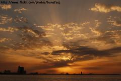 Lovely Moment (Banafsaj_Q8 .. Free Photographer) Tags: sunset beach club photography kuwait kw q8 غروب بيت bayt lothan الكويت kuw nikond80 الفوتوغرافي للتصوير banafsaj لوذان