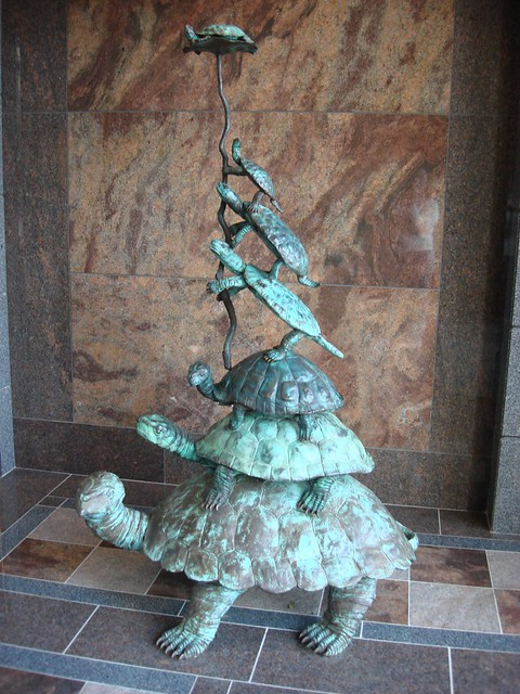 Frank Fleming Turtle Stack at RSA Tower, Montgomery AL