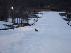 The Way Down (iampeas) Tags: steph adventures tubing snowtrails