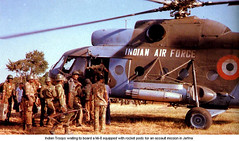 The Indian  Peace keeping Forces (IPKF)  arrived in Sri Lanka (South Asian Foreign Relations) Tags: peace indian sri lanka arrived forces keeping the