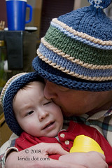 father and son hat
