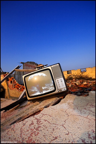 TV War by Midnight-digital.