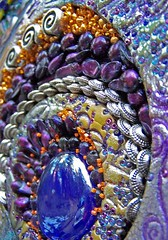 A little somethin' somethin' (sucra88) Tags: glass silver mosaic clay amethyst fam polymer seedbeads freshwaterpearls silverbeads brillianteyejewel susancrocenzi