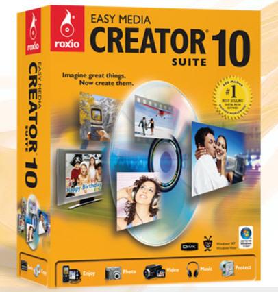 Roxio Easy Media Creator® 10 Suite