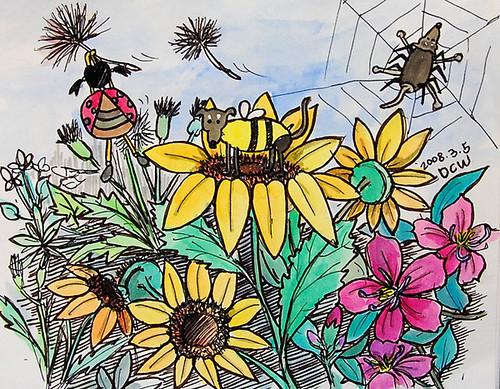 瓜仔裝蜜蜂