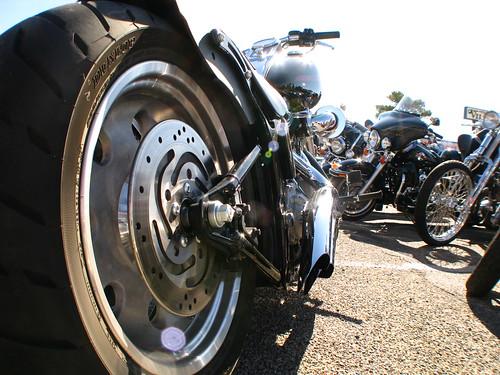 Motorbike in El Paso, Texas, USA