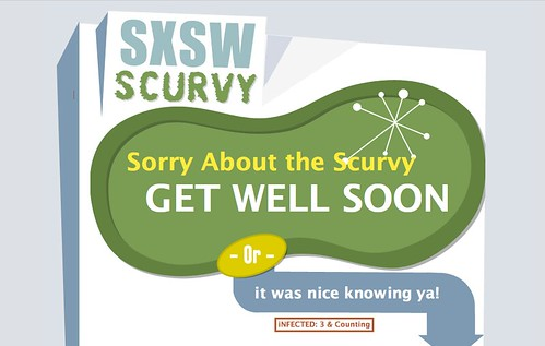 The SXSW Scurvy Get Well Card