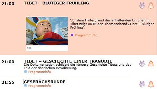 ARTE: Tibet-Abend
