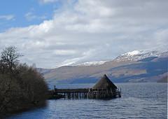 loch tay, crannog centre (sskelman) Tags: scotland perthshire tay loch scotlandscourtyside