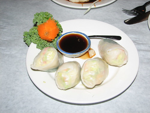 Fresh Rolls at Siam Paragon