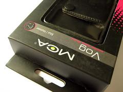 De MCA Vog wordt geleverd in een kartonnen verpakking.