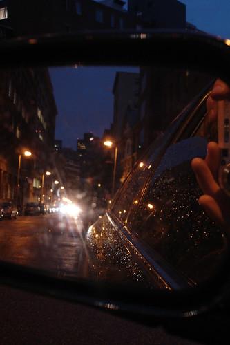 reflection @ night