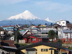Puerto Montt (mikemellinger) Tags: chile city mountains nature buildings scenery andes osorno puertomontt volcanosorno