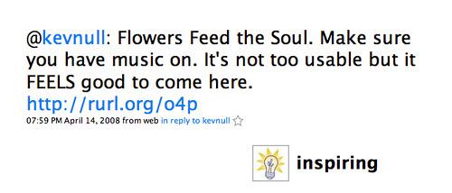Grouptweet: Inspiring