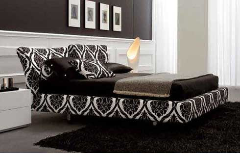 luxurious and elegant, you could try design black and white bedroom.