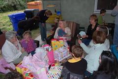 Opening presents (Brookswilson) Tags: makena makenas1stbirthday