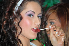 2008 Adultcon 1704 (Eyeshotpictures) Tags: beauty female model eyes erotic candy sweet lick sensual lolipop desire excite arousing sucker alluring glamorous enticing appealing sexywoman arouse adultcon adultconcom eyeshotpictures