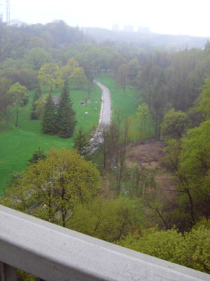 Don Valley, from the bridge between Flemingdon and Thorncliffe Parks