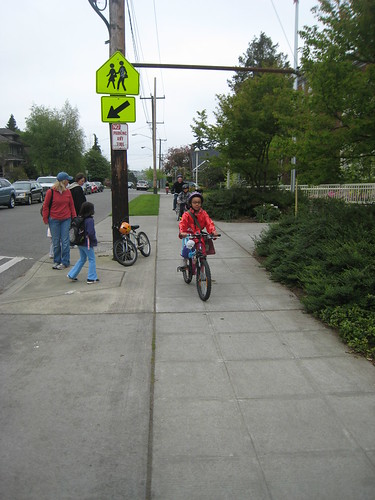 Bike To School Month, Day four