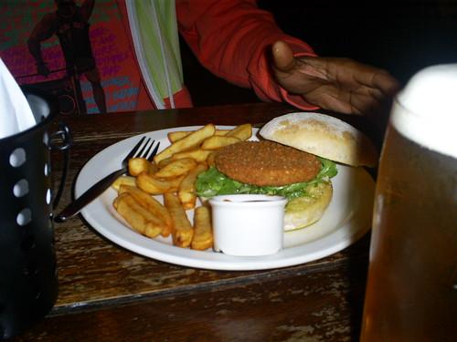 Falafel Pub Burger