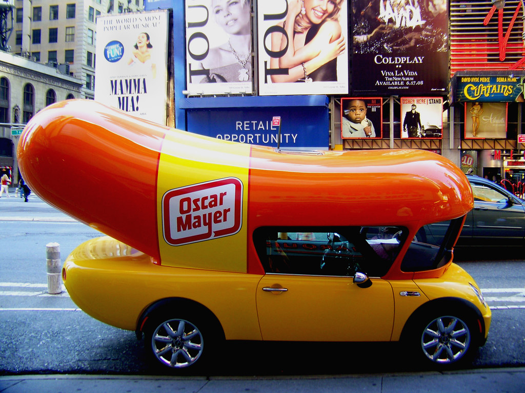 Anthony Weiner's Campaign Bus
