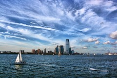 Downtown Jersey City Skyline (DP|Photography) Tags: newyork manhattan hudsonriver statueofliberty cruises newjerseyskyline downtownjerseycity debashispradhan dpphotography jerseycityfinancialdistrict dp|photography