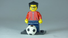 Brick Yourself Custom Lego Figure Soccer Enthusiast